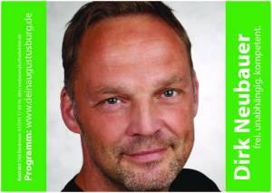 Dirk Neubauer, Bürgermeisterkandidat